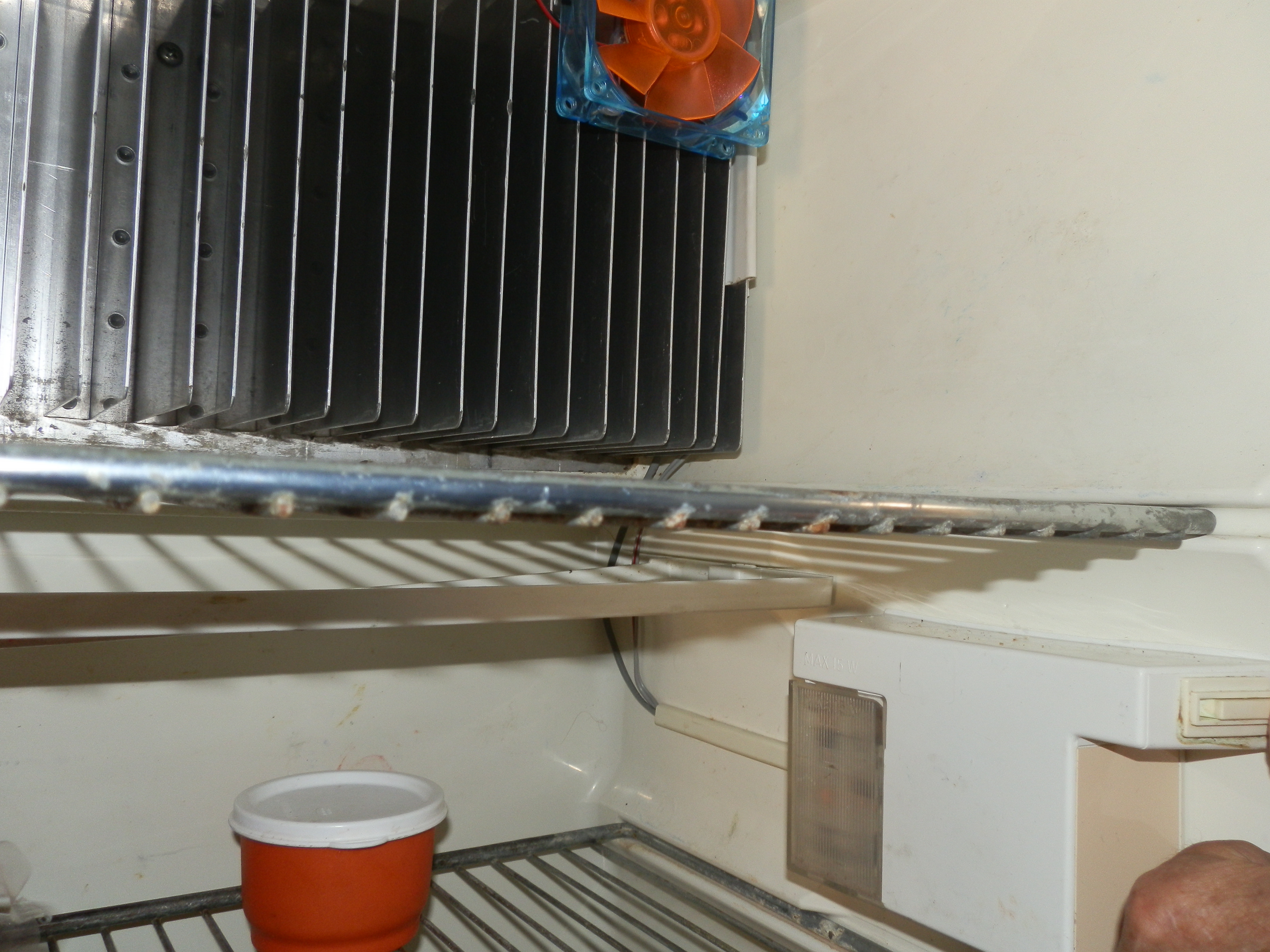 Refer Fan Diy Installation Chaos Leaves Town