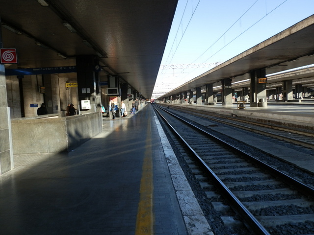 Arriving at the termini.